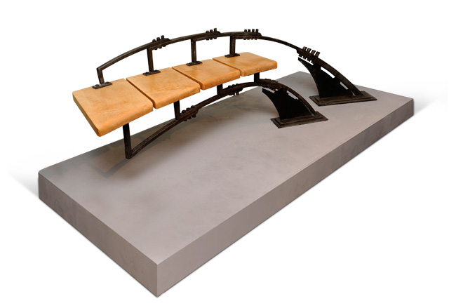 Suspended Bench